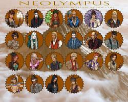 Gods of NeOlympus by Roysovitch