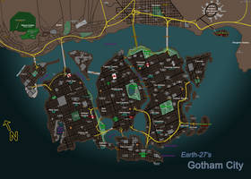 [Earth-27 for Nitwits] Gotham City