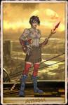 NeOlympus Card - Athena