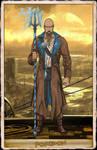 NeOlympus Card - Poseidon