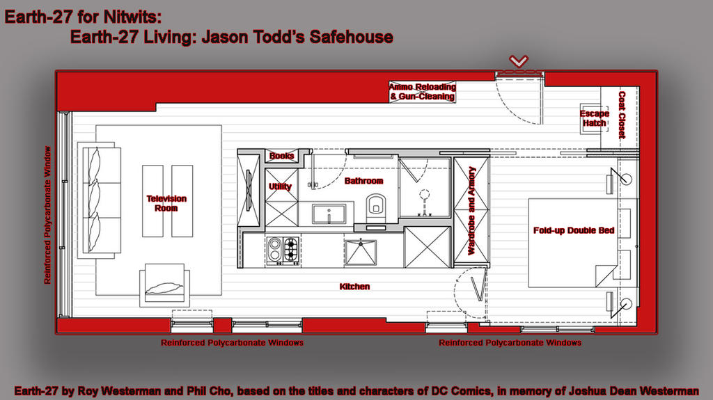 [Earth-27 Living] Jason Todd's Hideaway by Roysovitch