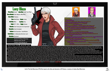 [Earth-27: Oracle Files] Zannah of Khera (1/2)