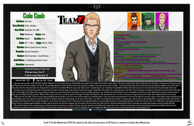 [Earth-27: Oracle Files] Cole Cash (1/2)