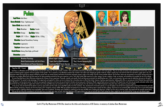 [Earth-27: Oracle Files] Ayla Ranzz