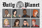 Daily Planet's Award-Winning News Team (WIP) by Roysovitch