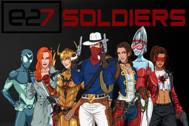 [Earth-27 Rosters] Seven Soldiers of Victory by Roysovitch