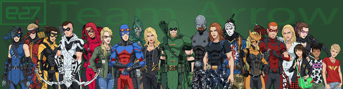 [Earth-27 Rosters] Team Arrow by Roysovitch