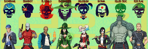 [Earth-27 Rosters] Suicide Squad by Roysovitch