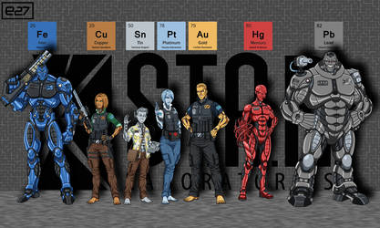 [Earth-27 Rosters] Metal Men