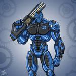 E27 Metal Men Iron