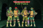[Earth-27 Rosters] Teenage Mutant Ninja Turtles