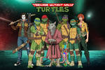 [Earth-27 Rosters] TMNT and Friends