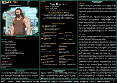 Network Files - Terry Bumbescu 1