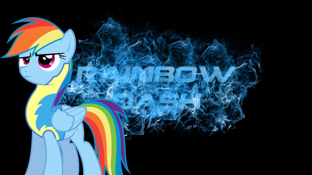 Fiery Treble Clef In Rainbow Flames: Rainbow Dash Fiery Wallpaper By Hellpes On DeviantArt