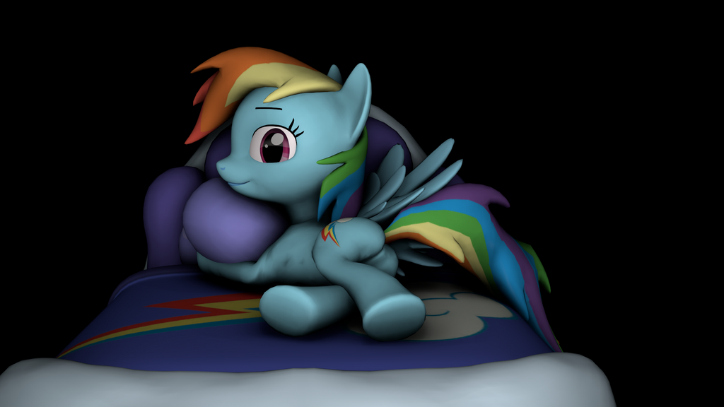 Rainbow Dash by hellpes