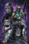 Star Wars Villans by mikegoesgeek