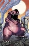 Jigglypuff Kaiju by mikegoesgeek