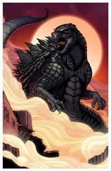 2014 Godzilla by mikegoesgeek