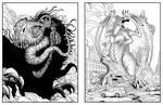 Monster! Inks by mikegoesgeek