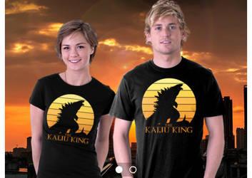 The Kaiju King teefury design by mikegoesgeek