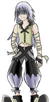 KH: HalloweenTown Riku
