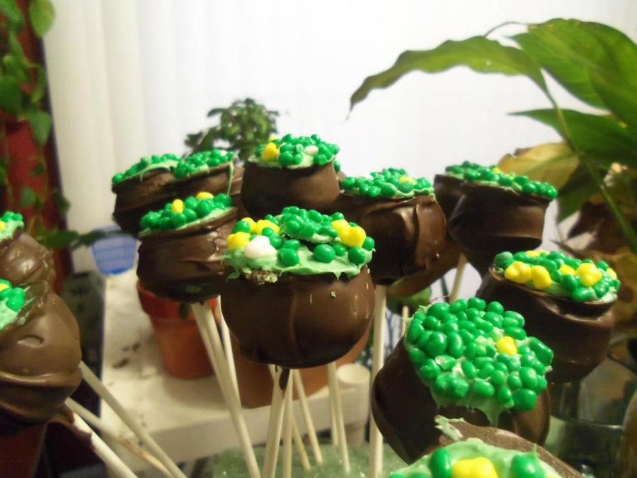 Coldron Cake Pops by AFKBrandy