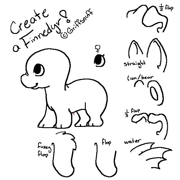 Create a Baby Finnedyr! by Atani1