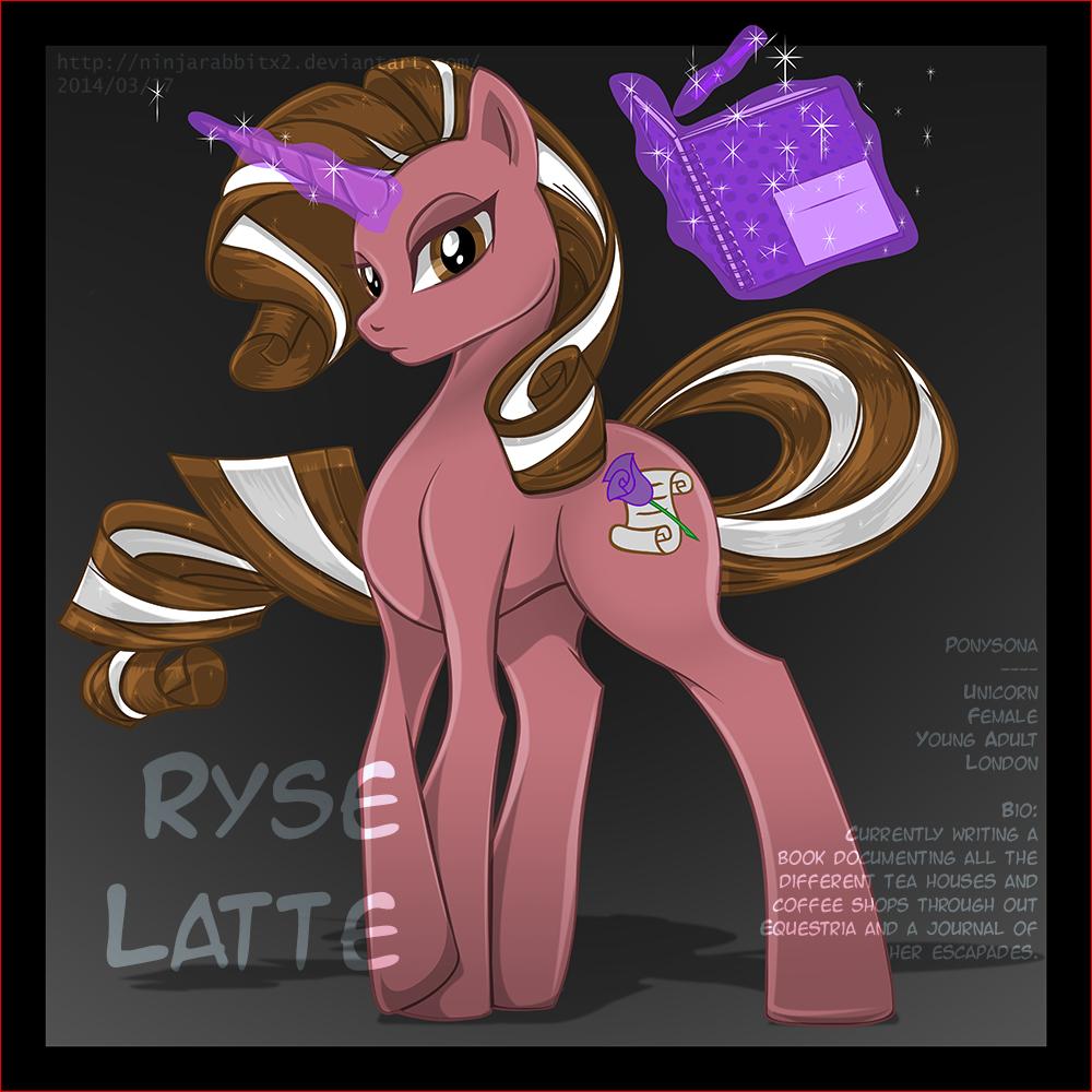 Pony OC - Ryse Latte by NinjaRABBiTx2