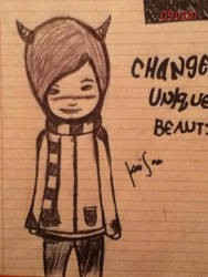 change unique beauty by TheLetDownKid