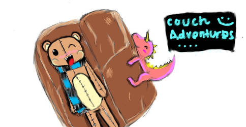 Couch adventures by TheLetDownKid