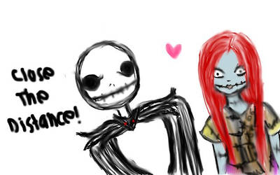 Jack and Sally by TheLetDownKid