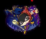 The Batgirls Gang up!! 'w')/ by kendaya