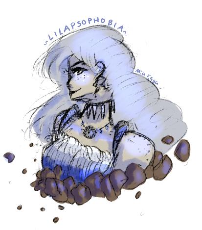Lilapsophobia by MiaKaga