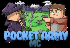 PocketArmy MC Logo by AcetoneAlligator