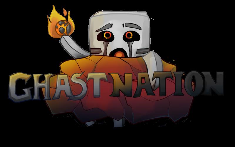 GhastNation Logo by AcetoneAlligator