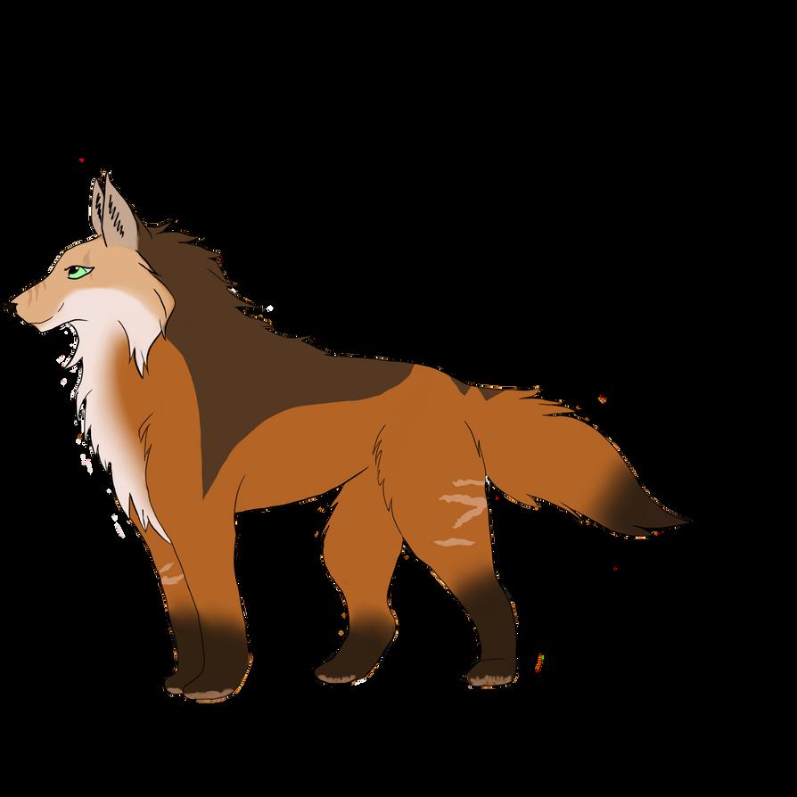 Fox lady by Genewolfie