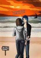 Max and Chloe at the Beach