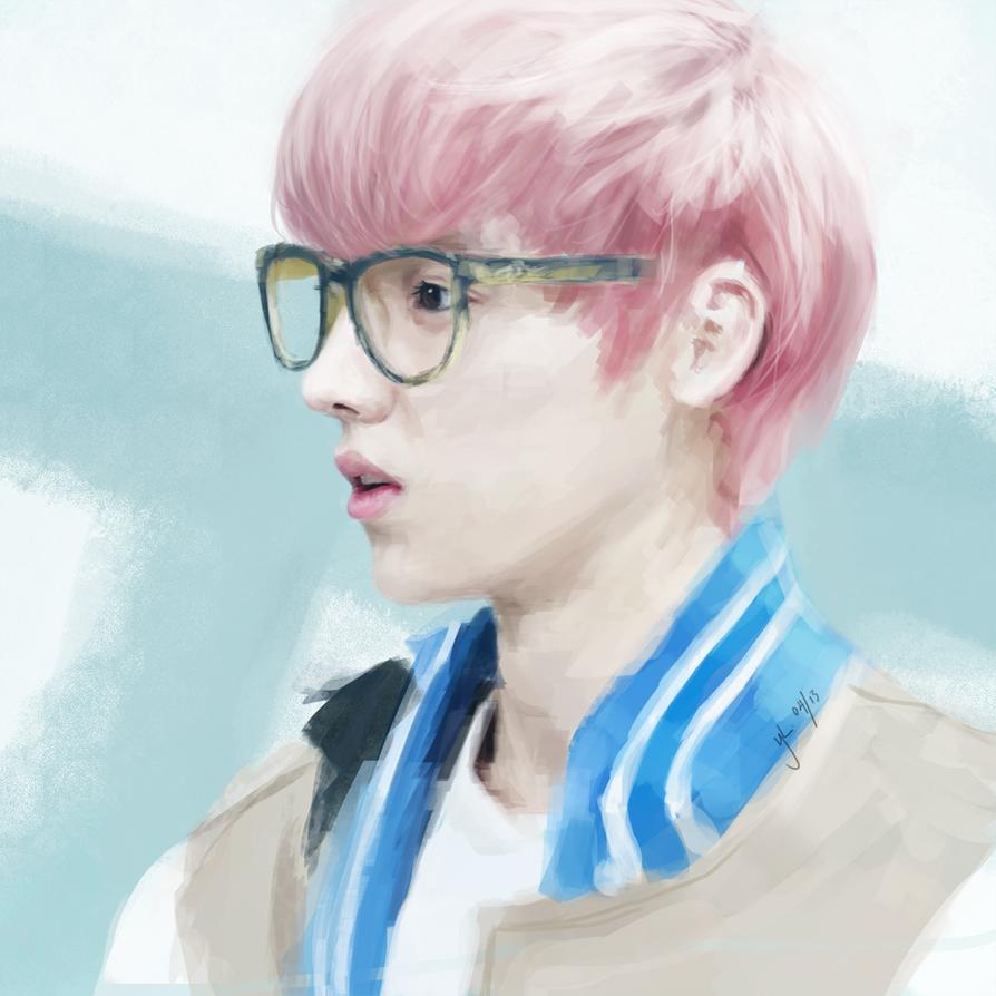 LuHan pink hair ♥♥♥