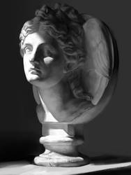 practice ~a plaster figure by zwzXD