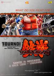 Tekken 6 contest display by MyHera