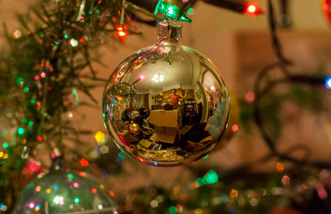 Christmas Bauble by FU51ON