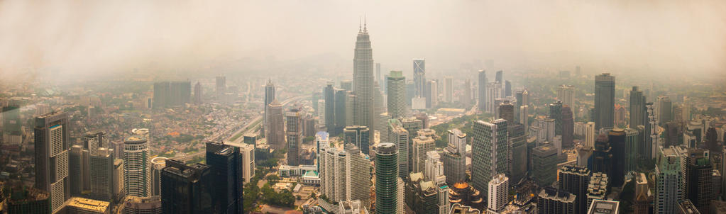 Kuala Lumpur Skyline by FU51ON