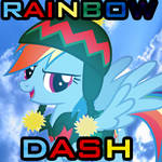 Rainbow Dash Hearth's Warming Eve Icon