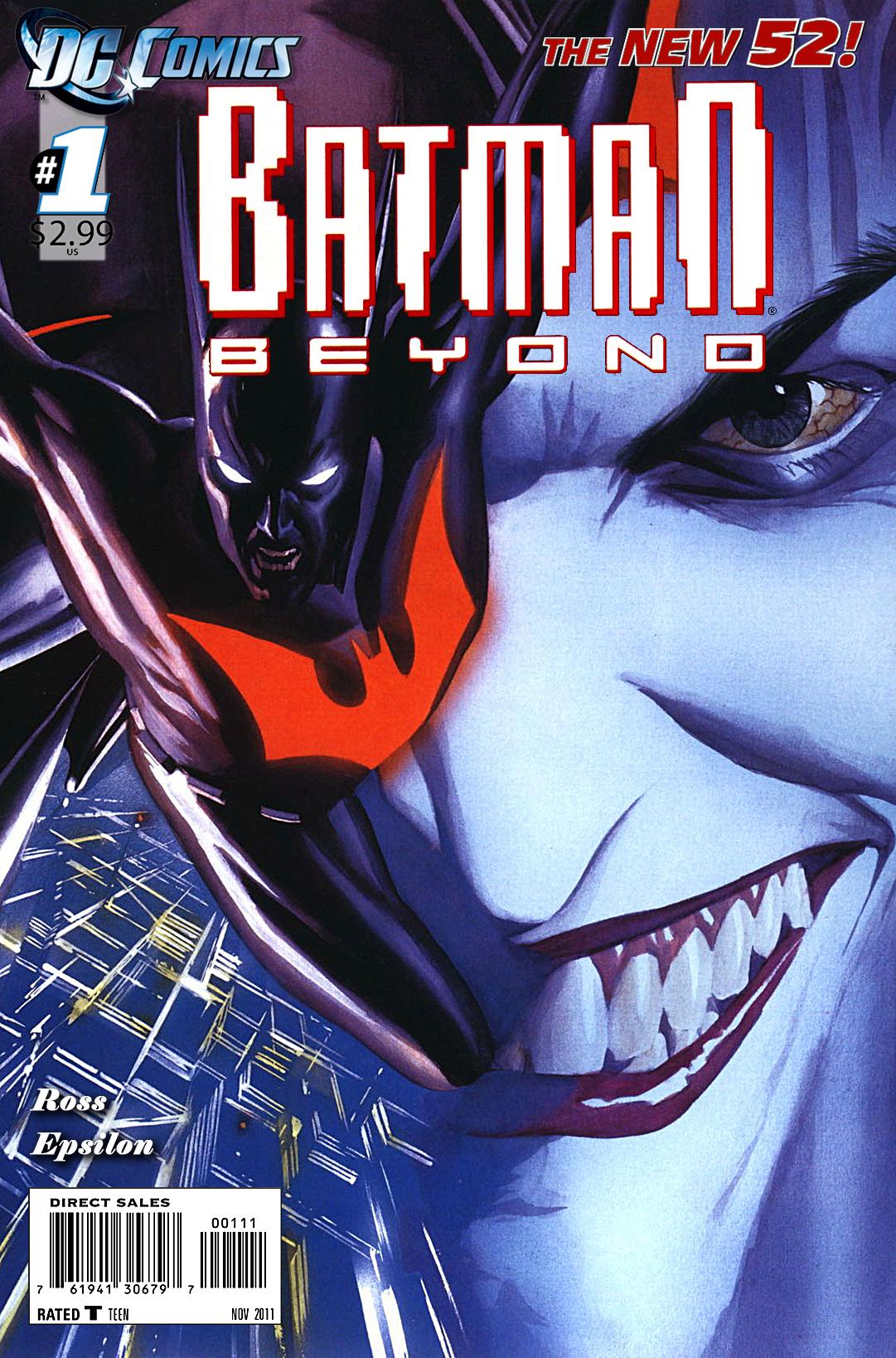 Batman Beyond New 52 No. 1 by EpsilonTLOSdark4 on DeviantArtNew 52 Batman Beyond