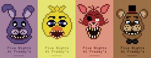 8-Bit FNAF: The Fab Four