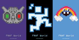 8-Bit FNAF: FNAF World