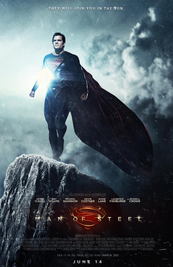 Man of Steel Poster by JMattisson on DeviantArt