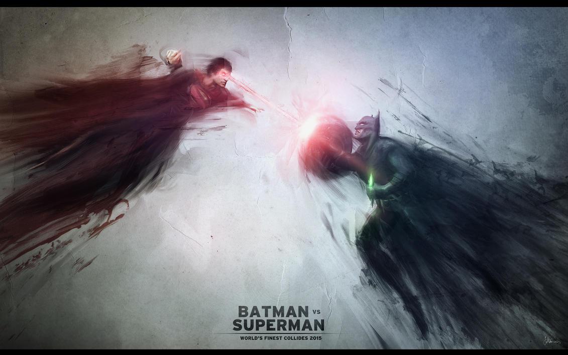 BATMAN Vs SUPERMAN By JMattisson