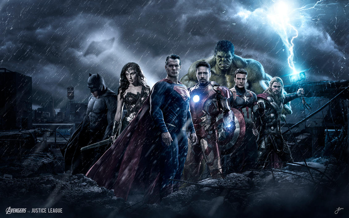 Justice League Vs Avengers Wallpaper