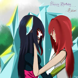 Happy Birthday Shiori by BlueberryWine